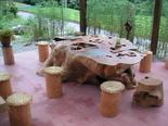 2003年8月27日 欅テーブル完成