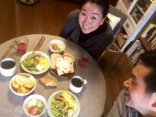 山吹善彦・知子さんの食卓